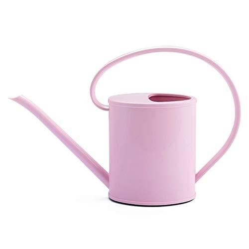 NYKK Regaderas de Plantas Regadera de 1,2 l Que cultiva un huerto casa regadera plástica de la Boca Larga regadera plástica Equipo de riego (Color : Pink)