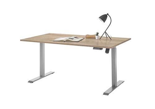 RASANTI Schreibtisch höhenverstellbar Pronto von Bega Sonoma/Grau