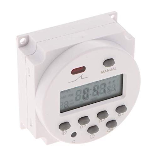 CENPEN Interruptor Temporizador de retransmisión CN101A 24V LCD Digital programable