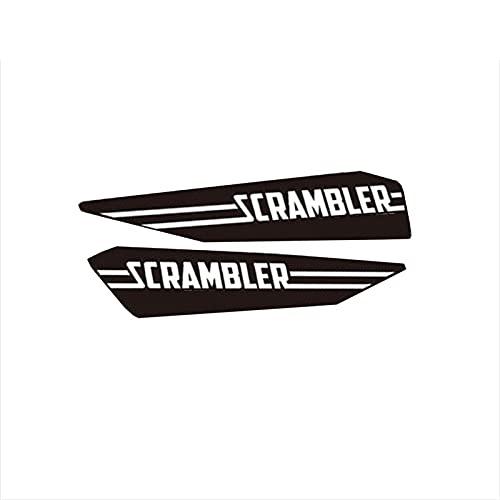 para D-UCATI Scrambler 800 1100 Pegatina De Motocicleta Tanque De Combustible Casco Reflectante Calcomanía De Señal