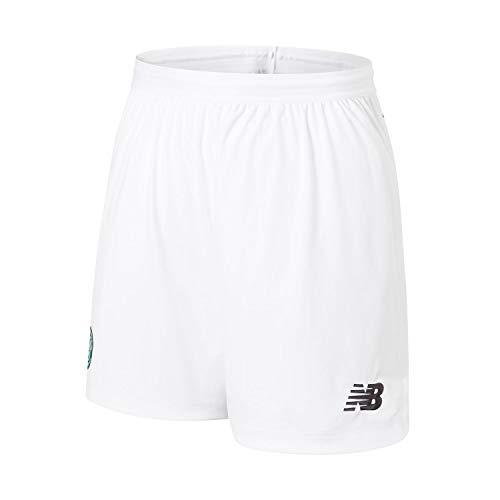 New Balance 2019-2020 Celtic Home Shorts (White) - Kids
