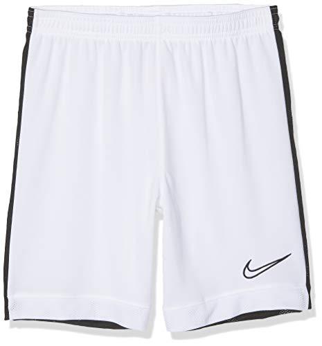 Nike Dri-Fit Academy, Pantaloncini da Calcio Bambino, Bianco (White/Black), M