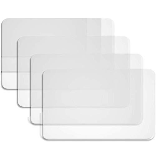 BETOY 4 Stück Tischsets Platzset Kunststoff Tisch Matte Hitzebeständige Tischsets Essmatten für Tisch, Esszimmer, Küche (43 x 28 cm)