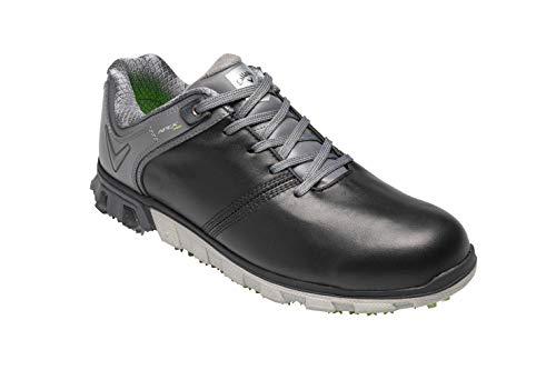 Callaway Apex Pro Waterproof Spikeless, Chaussures de Golf Homme, Noir Black/Grey, 40 EU