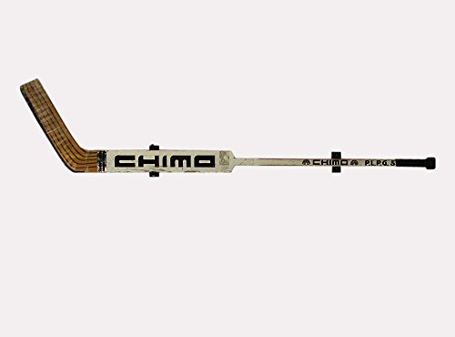KR Ideas Horizontal Wall Mount for a Hockey Goalie Stick (Made in The USA) (Black)