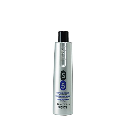 Echosline S5 Shampoo Seboregolatore – Lavaggi Frequenti, 350 Millilitri