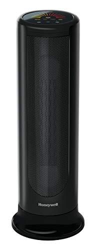 Honeywell ComfortTemp 4 Ceramic Tower Heaters, 8 x 8 x 23.4, Black
