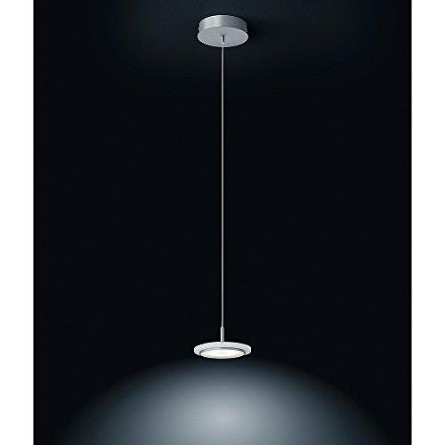 Helestra LED Pendelleuchte Rubi, Chrom/Metallisch, Kunststoff, 16/1518.19/5196