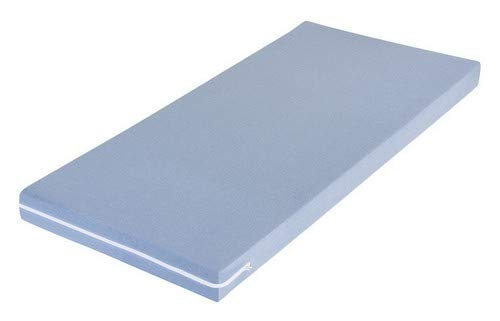 MSS Schaumstoffmatratze, Polyester, Blau, 100 x 190 cm