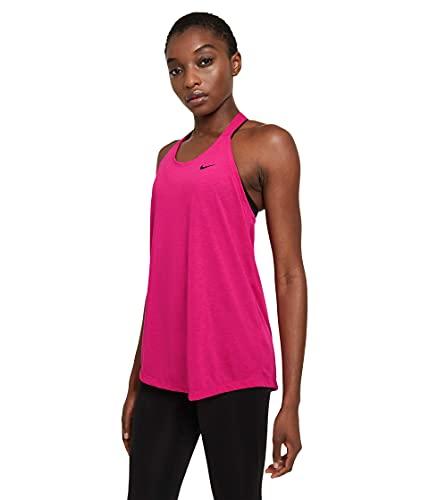 Nike W Nk Dry ESS Elastika Tank Top für Damen, T-Shirt, DA0370-615, DA0370-615 X-Small