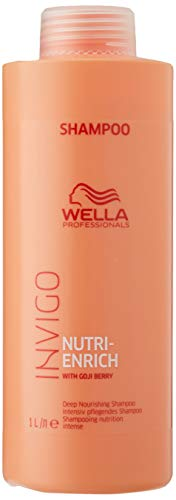 Wella Professionals Invigo Nutri-Enrich Deep Nourishing Shampoo, 1000 ml