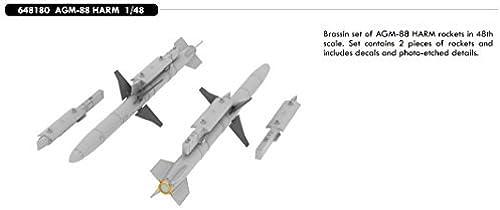 popular EDU648180 1 48 Eduard Brassin AGM-88B HARM Missile Set Set Set [MODEL KIT ACCESSORY] by Eduard  costo real