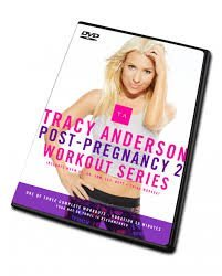 Tracy Anderson Post Pregnancy 2 workout series