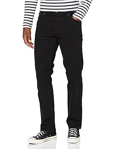 Wrangler TEXAS TONAL, Jeans Uomo, Nero (Black Overdye 004), 34W / 32L