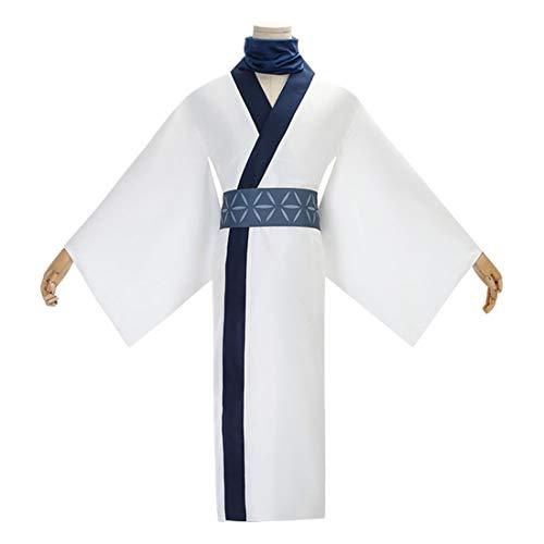 YYFS Anime Cosplay Disfraz Halloween Navidad Adulto Disfraz Set Kimono Hanfu Men's Edition,Men's Size-X-Large