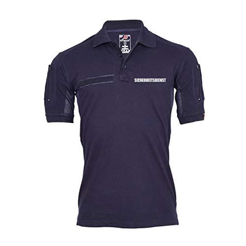 Copytec Tactical Poloshirt Sicherheitsdienst Sicherheit Security Schutz Geld #30168, Größe:3XL, Farbe:Dunkelblau