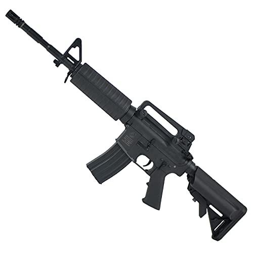 Fusil de Airsoft Colt M4 Nylon eléctrica (6mm) | Carabina semiautomática Calibre 6mm a batería