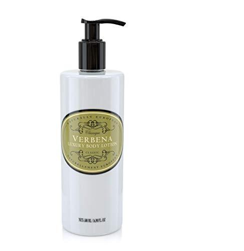Naturally European Verbena Oil Rich & Nourishing Organic Full Body Lotion 500ml | Paraben Free Cleansing and Moisturising Natural Full Luxury Body Lotion