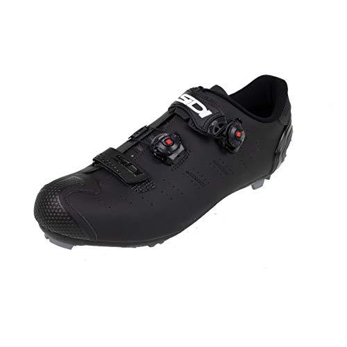 Dragon 5 MEGA Mountainbike-Schuhe, Schwarz (Matte Black/ Black), 42.5 EU