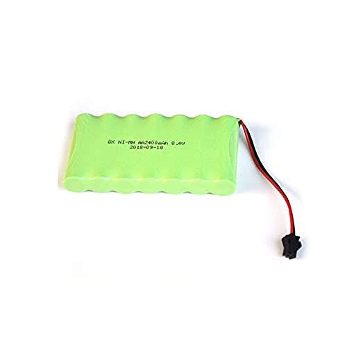 Compatible para Ni-Mh 8.4V AA Paquete de batería Recargable 2400mah AA Cell para RC Coche Helicóptero Juguetes Luz LED Teléfono inalámbrico Enchufe SM