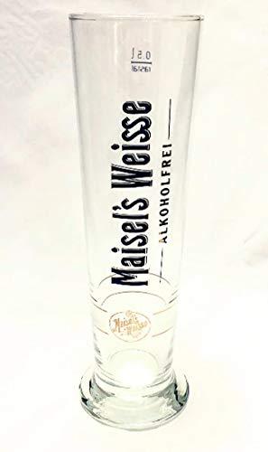 Maisels Weisse 0,5l Glas /ALKOHOLFREI / Bierglas / Biergläser / Bier / Weizenbier / Weizengläser / Bier Gläser / Bar / Gastro /5 Set