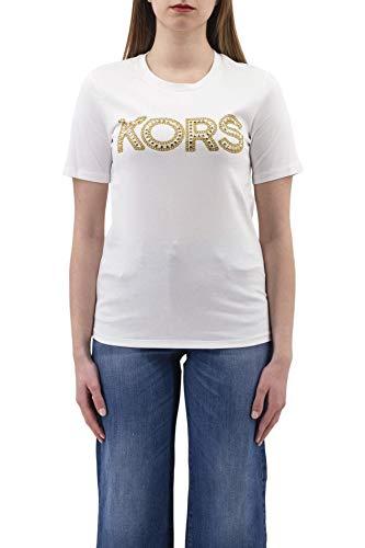 Michael Kors T-shirt Donna cod.MS1500G97J WHITE SIZE:S