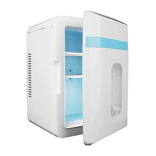 Compacto, refrigerador portátil, 10 litros, Mini Nevera para Dormitorio, Oficina, Dormitorio, automóvil, Ideal para Cuidado de la Piel y cosméticos