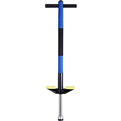 MWY Saltador Pojo de Pogo, Salto neumático Palo Palo for Adultos Infantil Entrenamiento de Juguete Balance Libre, hasta 60 kg, Aire for niños Regalo de cumpleaños (Color : Blue)