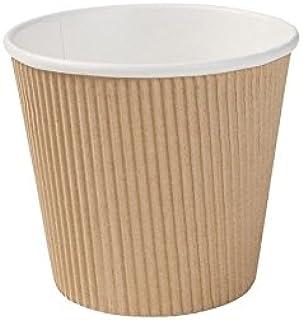 BIOZOYG Gobelet Bio jetable à Soupe Vaisselle jetable Soupe I Gobelet ondulé Soupe Carton Kraft avec revêtement intérieur ...