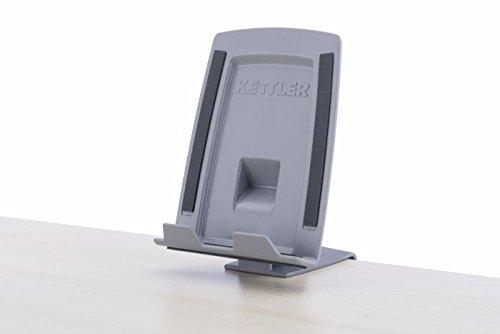Kettler Klappbarer Tablet-/Handyhalter grau, 10 x 10 x 16,5 cm