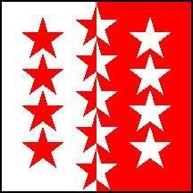 Wallis  Flagge Fahne 120 * 120 cm
