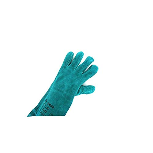 Gants soudeur cuir vert Taille XL/10 EP 2630