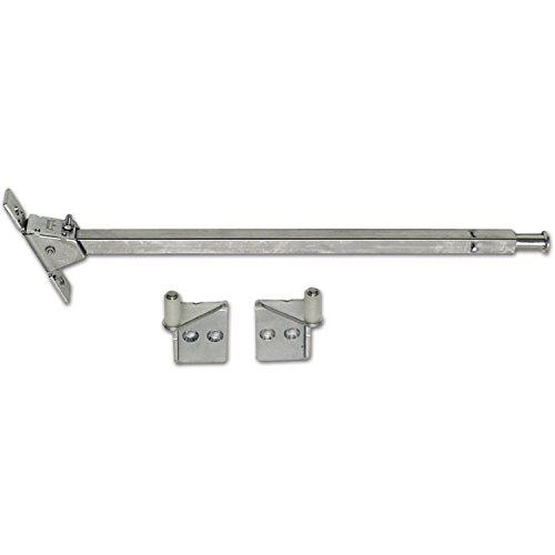 DORMA Schließfolgeregeler SR 390 für Stahl-Türen | verzinkt | 1 Garnitur