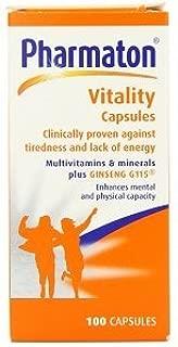 Pharmaton Vitality Capsules 100 Caps X 3 Pack