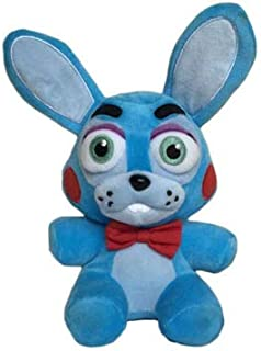 FAVORTOY Plush Toys Five Nights at Freddy's Sister Location Freddy Bear Bonnie Foxy Baby Ballora Clown Plush Stuffed Toys Doll Collectible Gift for Kids Children Birthday-1Pcs (Toy Bonnie)