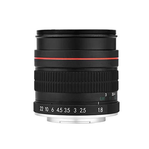 Für Nikon SLR Digitalkamera Porträt-Objektiv, 85mm F1.8 Manueller Fixfokus Objektiv, Kameraobjektiv Für Nikon DSLR D800 D600 D7200 D7100 D7000 D5100 D5000 D3100 SLR Kamera Colorful