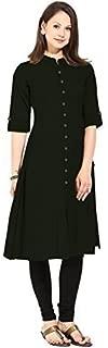 Generic Cotton Kurta (Dress 06_Black_Xxxx-Small)