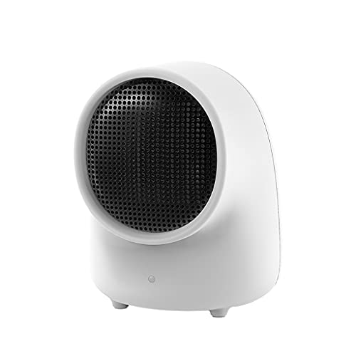 Riscaldatore Riscaldatore elettrico elettrico di 500W Space for il riscaldatore di ventilatore in ceramica for uso domestico con protezione da surriscaldamento e protezione da tip-over Termoventilato
