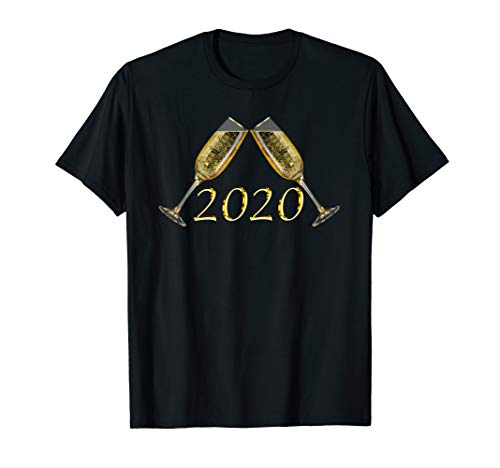 Toast to 2020 New Year Champagne Toast T-Shirt