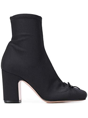 Valentino Luxury Fashion | Red Damen TQ2S0D65TIQ0NO Schwarz Polyester Stiefeletten | Frühling Sommer 20