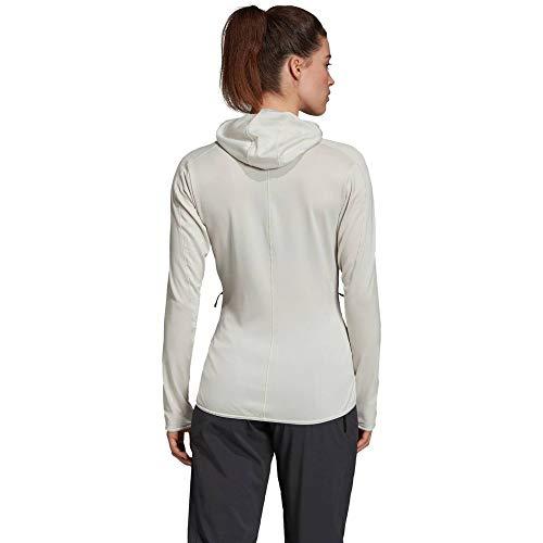 adidas W Tracero Ho FL Sweatshirt, Damen XS Mehrfarbig (blapur