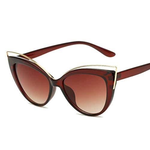 Gafas de sol del ojo de gato retro cortavientos Proteger a prueba de polvo de alta definición Gafas de sol Gafas Compras Moda lzpff (Color : 3-General)