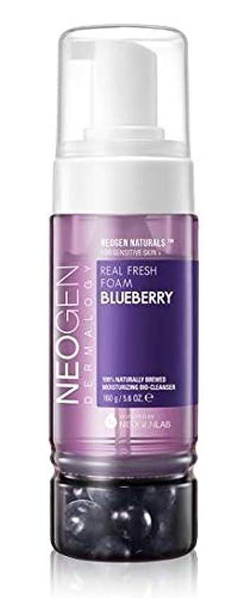 穀物ラフ睡眠複雑な[NEOGEN] REAL FRESH FOAM Blueberry 160g / [ネオゼン] リアルフレッシュフォーム ブルーベリー 160g [並行輸入品]
