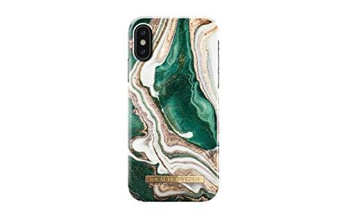 IDEAL OF SWEDEN Handyhülle für iPhone X/XS (Golden Jade Marble)