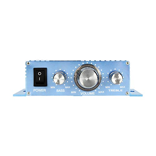 BLLXMX Amplificador De Coche para Computadora Monobloque De Sistemas De Audio: Amplificador De 40 + 40 Vatios, Estable De 4/8 Ohmios