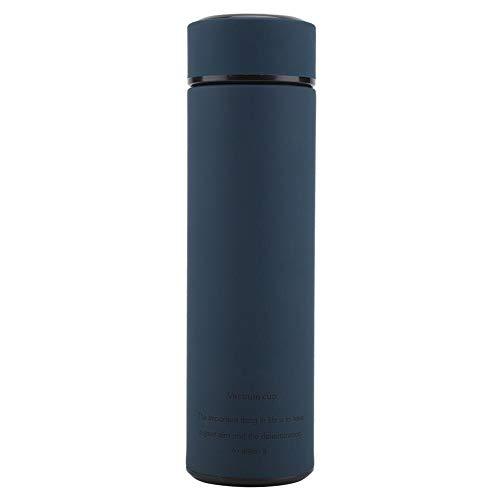 Vacuümwaterfles, roestvrij staal, thermoskan voor water, thee, kopjes, rechte mokken voor thuis, kantoor, camping…