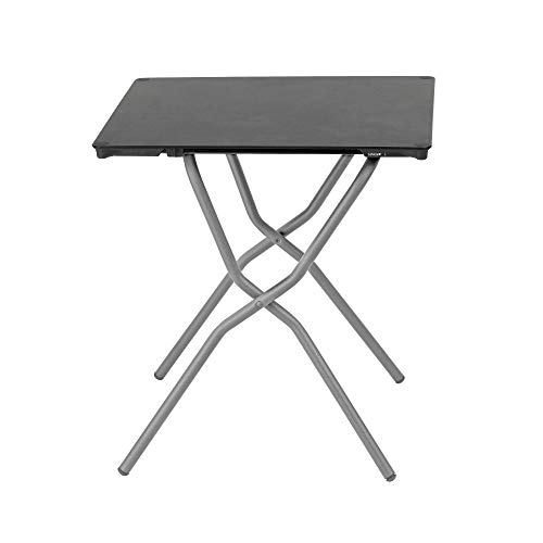 Lafuma Anytime Table carrée minérale 68 x 64 cm