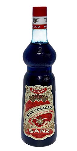 JARABE SANZ BLUE CURACAO 1L