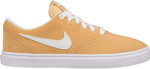 Nike Damen SB Check Solar Leichtathletik-Schuh, Celestial Gold/White, 37.5 EU