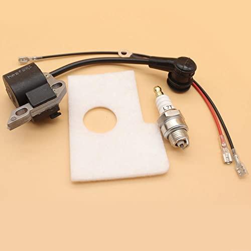 Kit de bujía de filtro de aire de bobina de encendido para STIHL MS180 MS170 MS 180 018 017 piezas de motosierra de gasolina 11304001302 Ideal